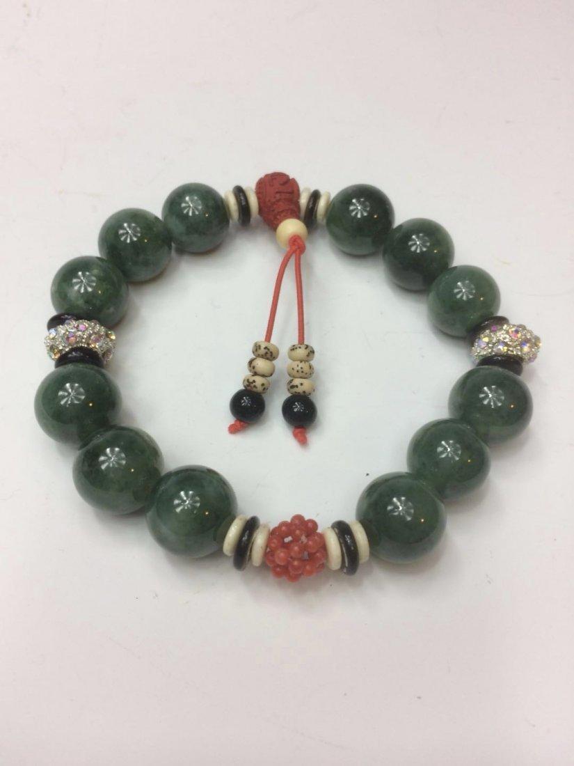 A jadeite bracelet - 4