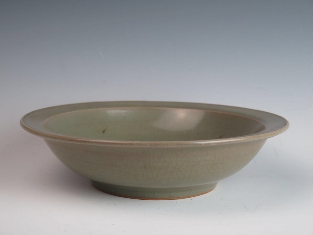 Porcelain dragon disc