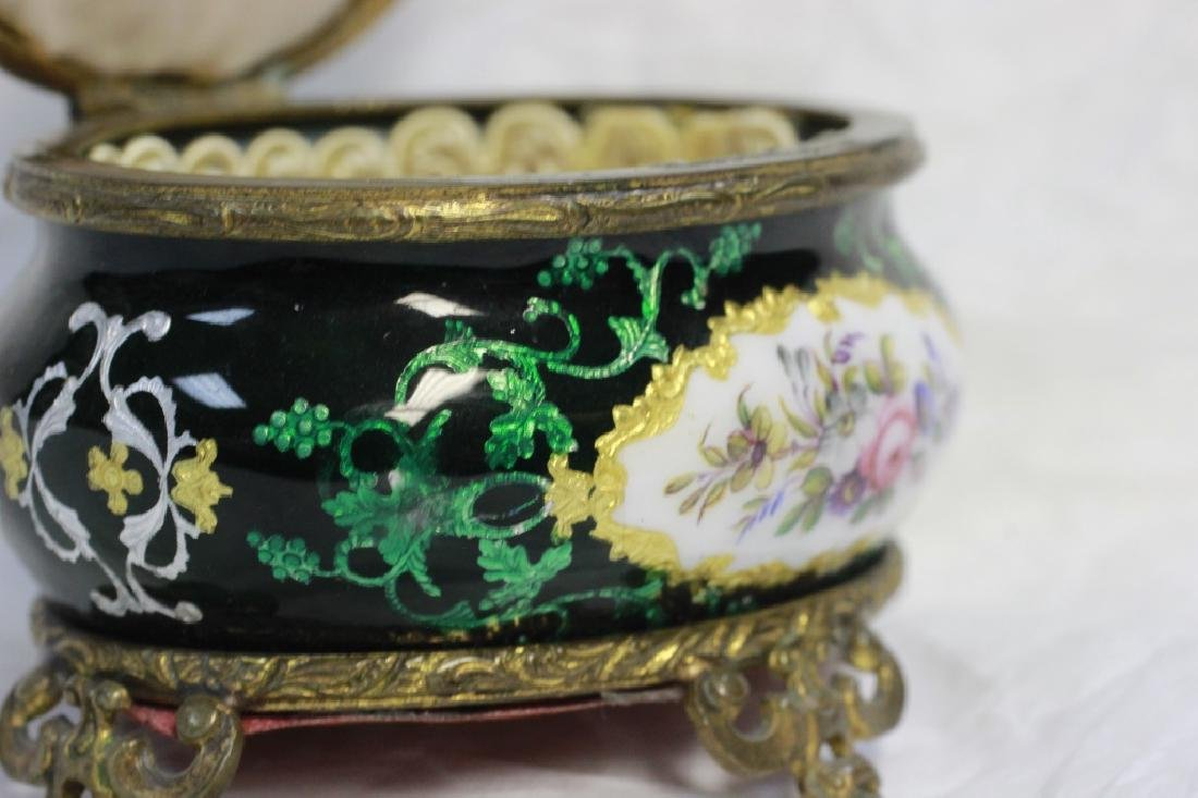 Green Enamel Box - 3