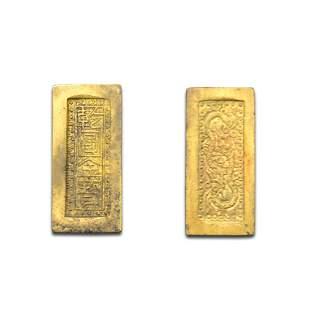 A Dragons Gold Ingot