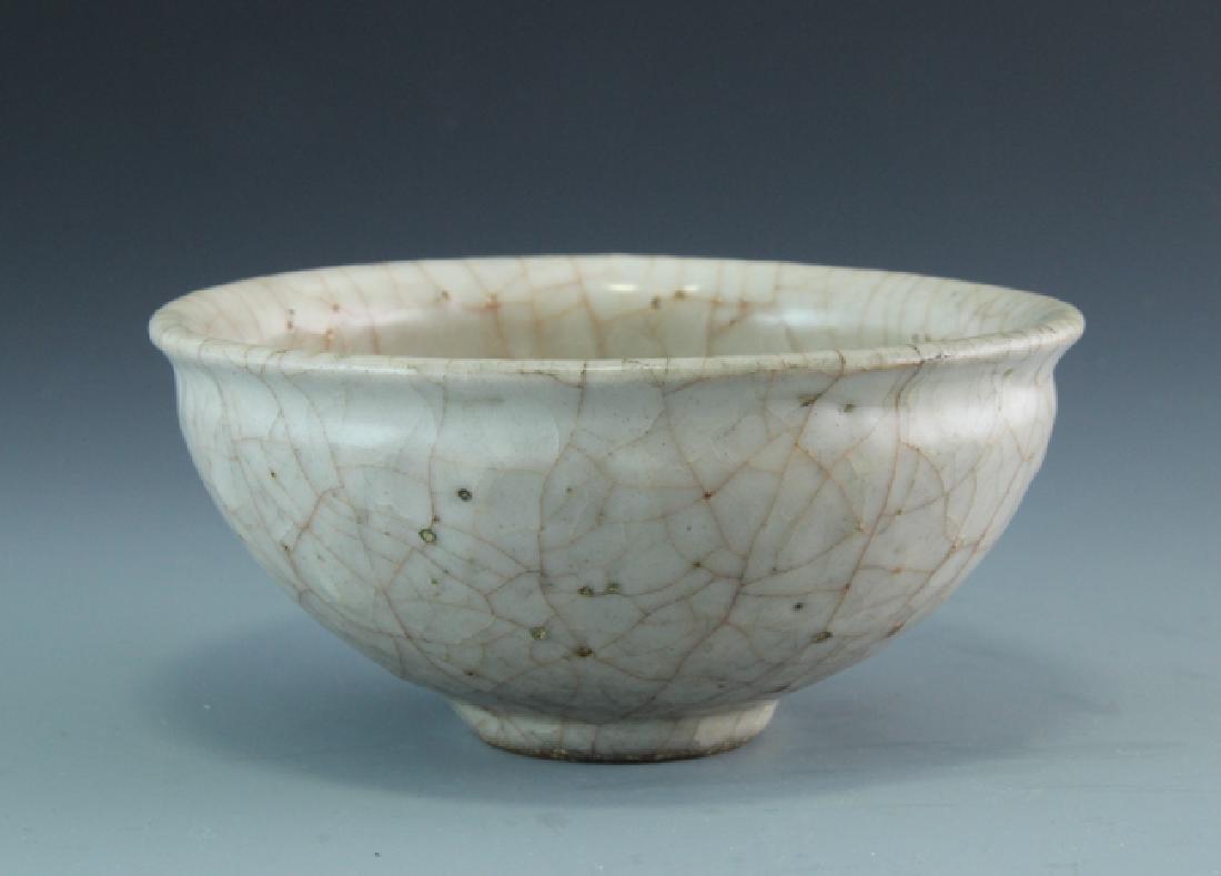 A White Glazed Guan-Type Small Bowl