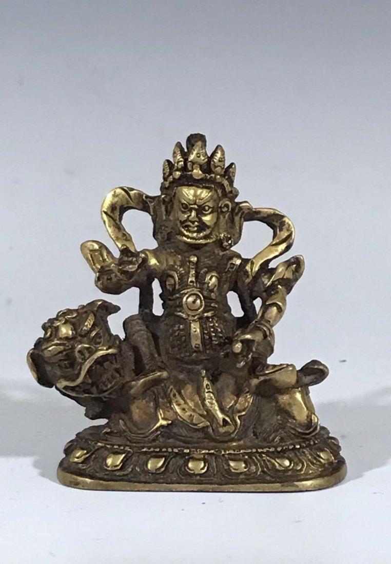A old bronze Buddha