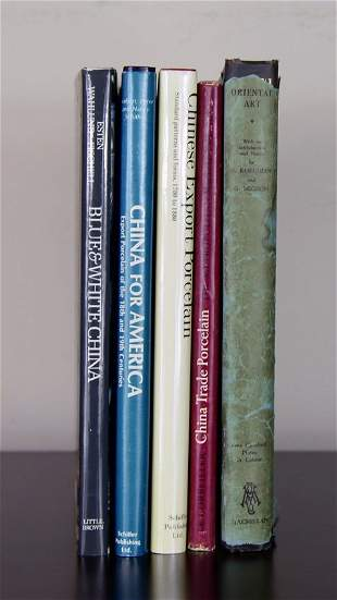 5 VOLS. CHINESE REFERENCE BOOKS.