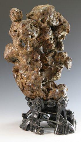 Burl Wood Scholar Rock Form Stone