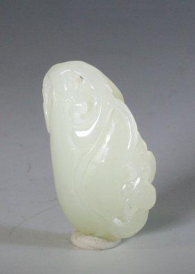 White Jade Melon Pendant
