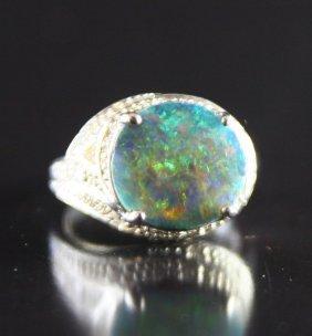 Boulder Opal Ring 3.60ct