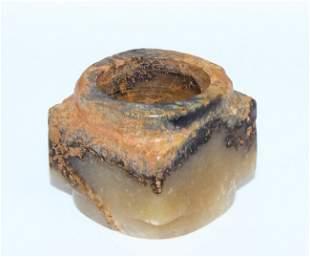 An archaic jade cong