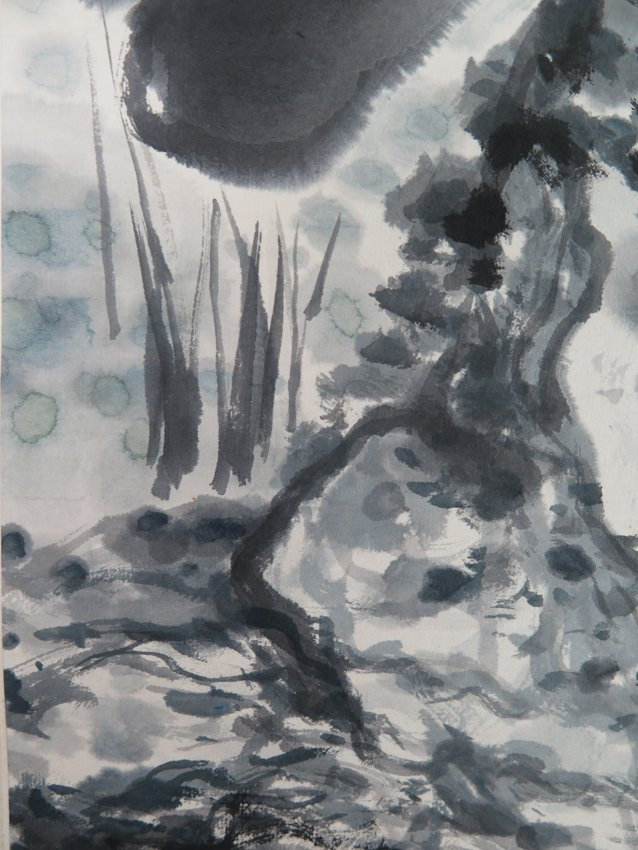 An ink on peper by tang yun - 10