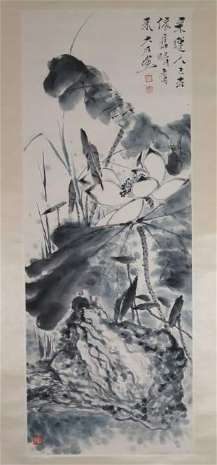 An ink on peper by tang yun