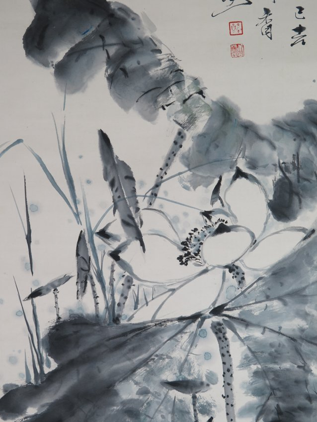 An ink on peper by tang yun - 4