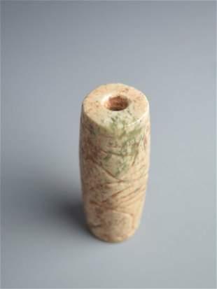 A hong shan culture jade stub.