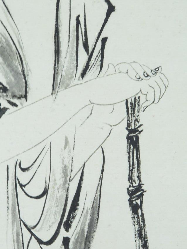 A hanging scroll by zhang dai qian - 7