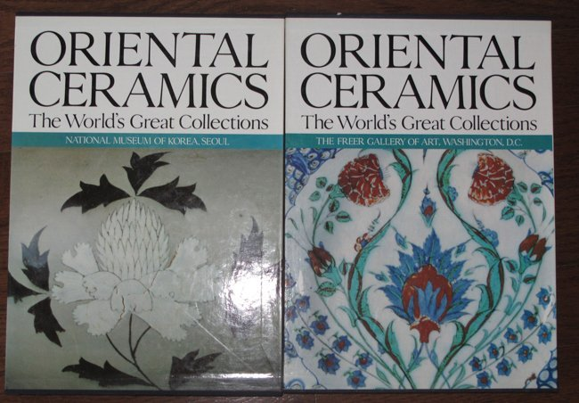 2 VOLUMES OF ORIENTAL CERAMICS. THE WORLD'S GREAT - 2