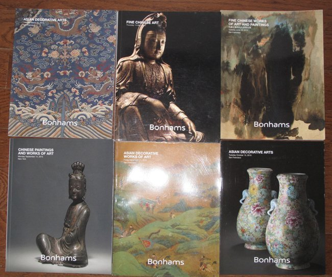 15 BONHAMS AUCTION CATALOGS OF CHINESE WORKS OF ART - 3