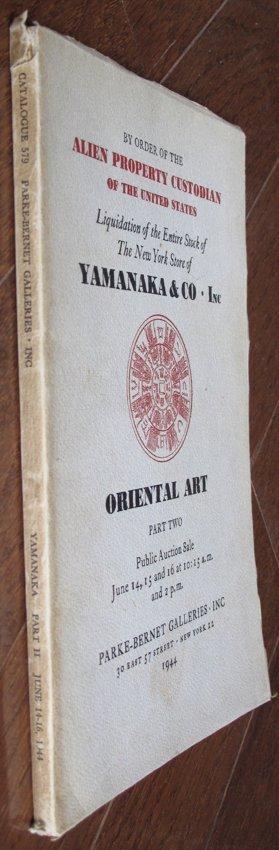 Sotheby's Parke-Bernet Catalog of YAMANAKA & CO. INC - 2
