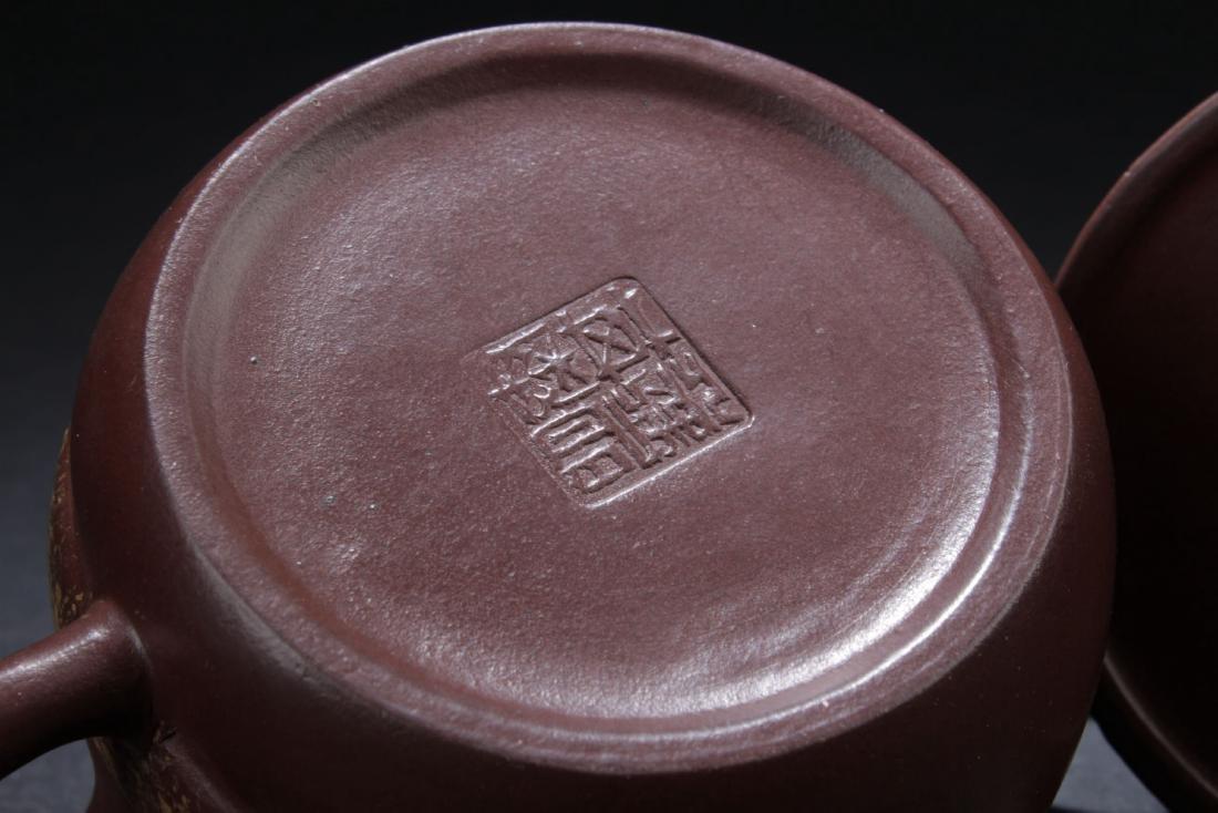 Two Estate Chinese Tea Pot - 8