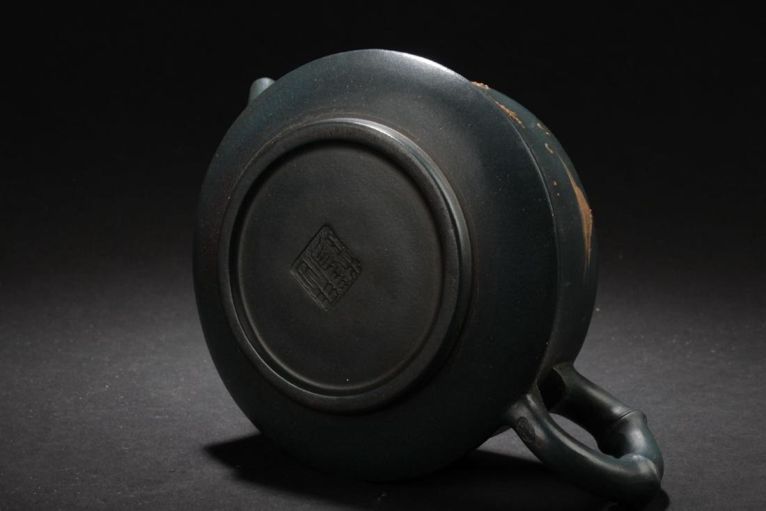 An Estate Land-scape Decorating Chinese  Tea Pot - 7