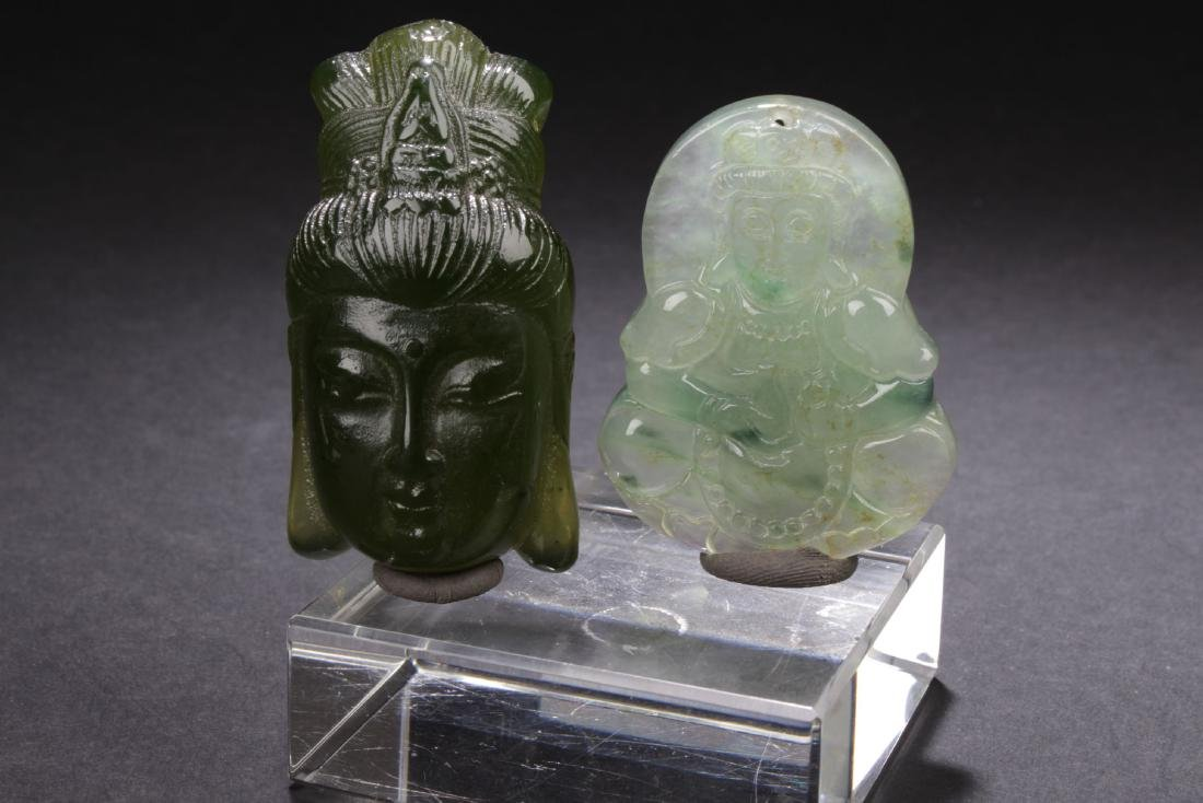 Two Chinese Estate Religious Items