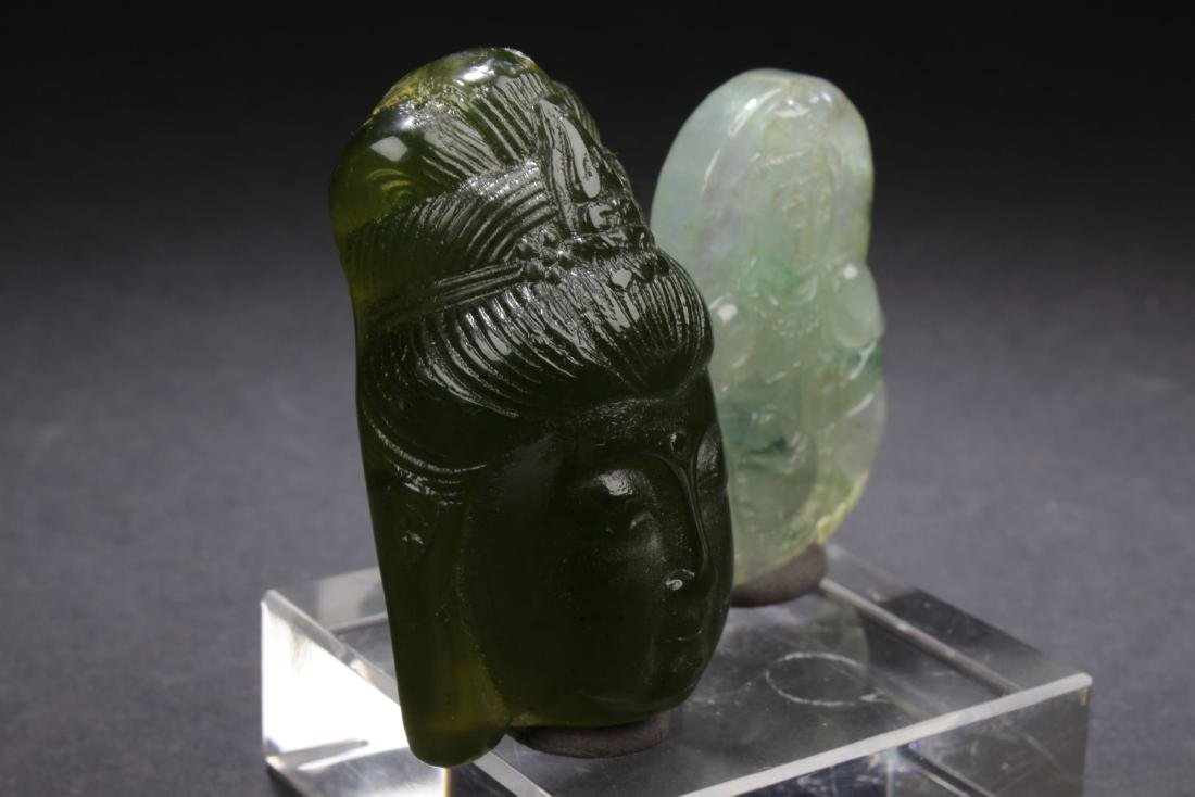Two Chinese Estate Religious Items - 2