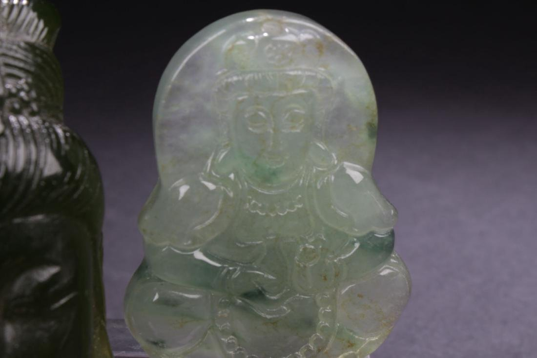 Two Chinese Estate Religious Items - 4
