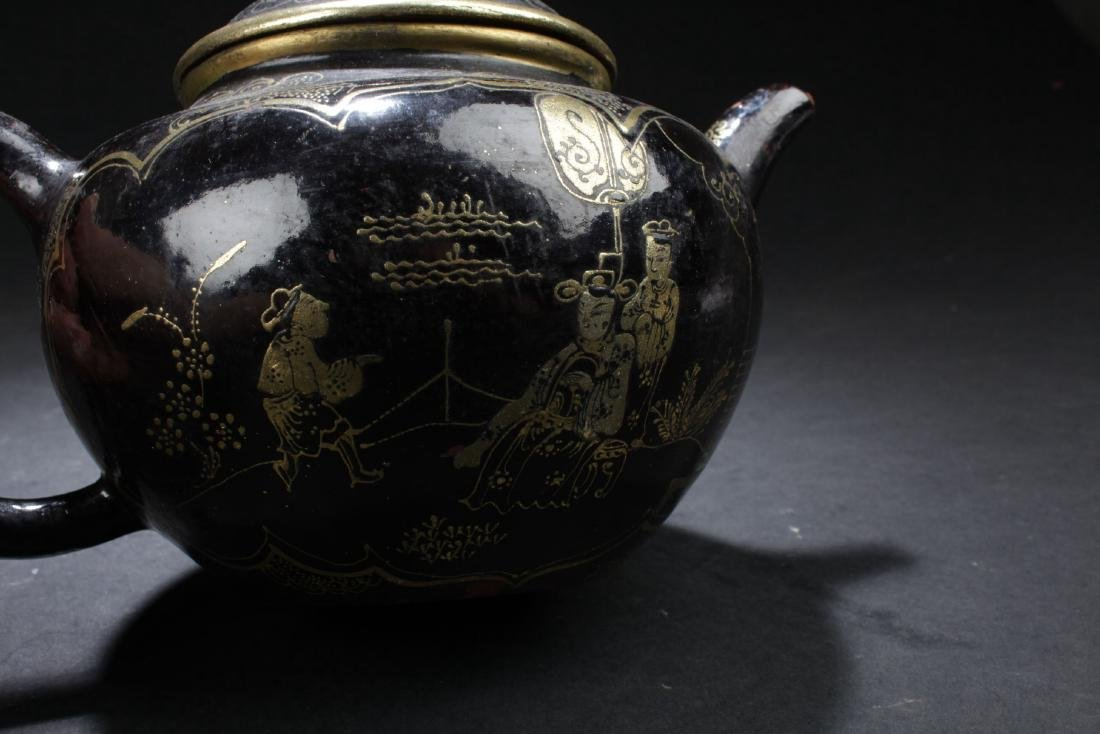 A Windowed Chinese Story-telling Tea Pot - 2