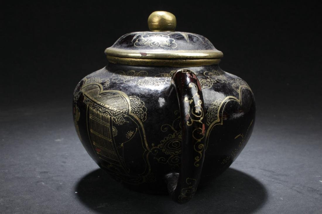 A Windowed Chinese Story-telling Tea Pot - 5