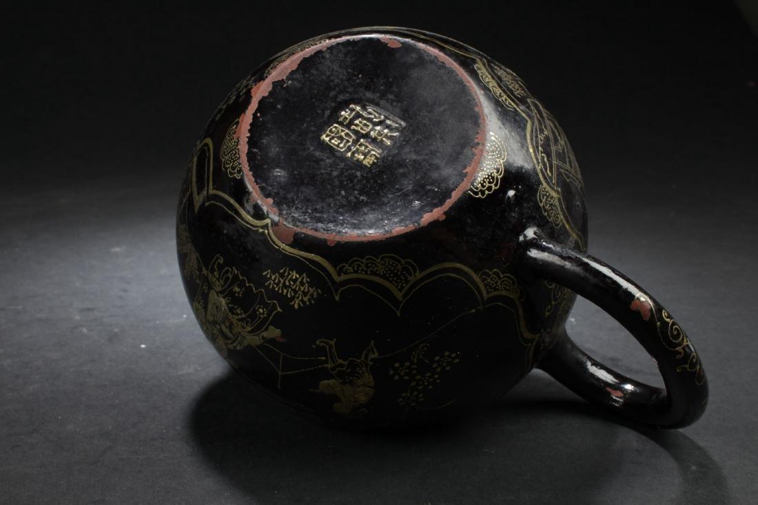 A Windowed Chinese Story-telling Tea Pot - 6