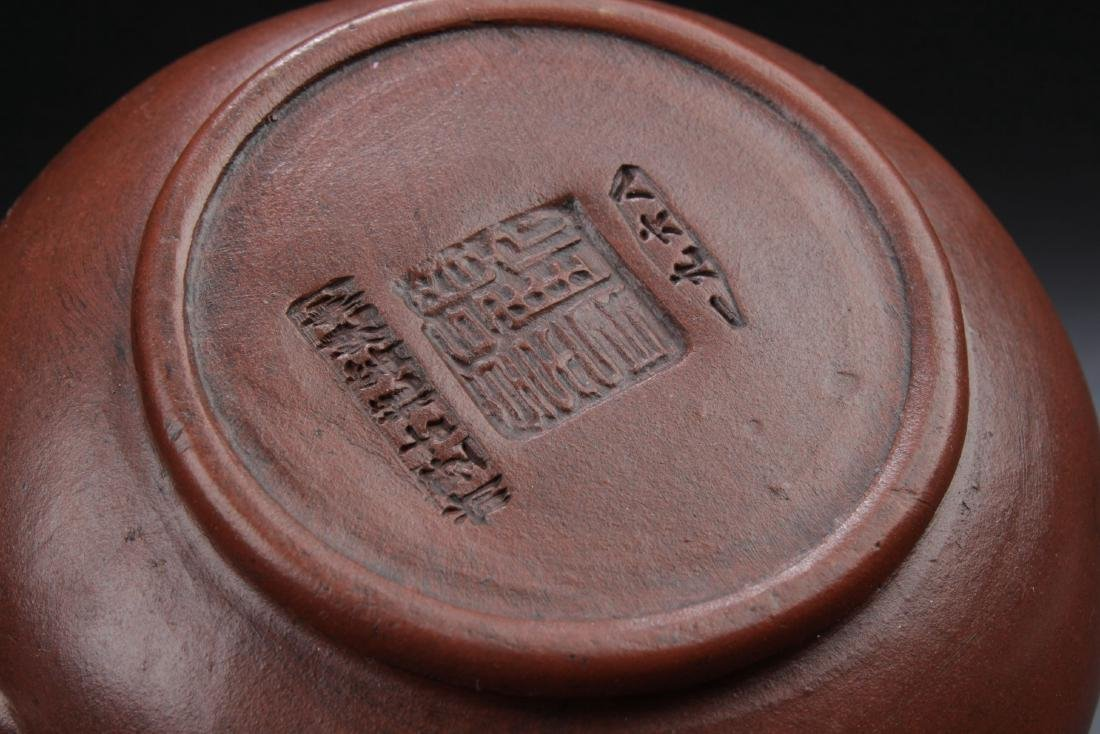 A Governor-seal Chinese Estate  Teapot - 6