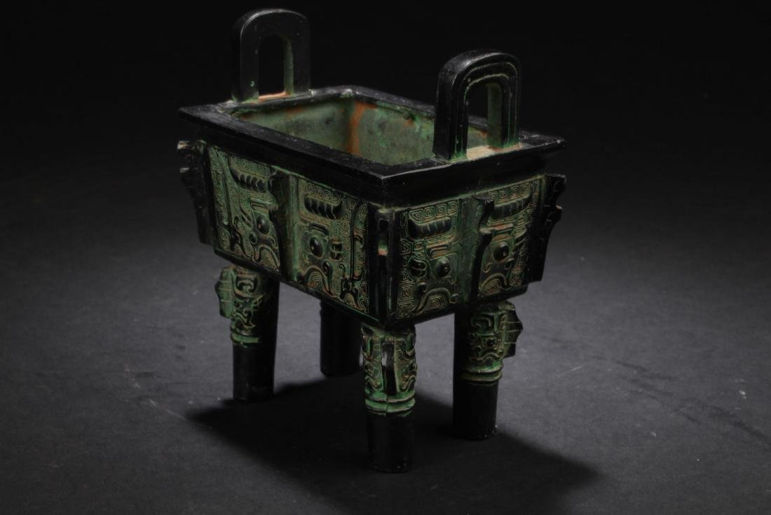 A Chinese Bronze Vessel Display - 2