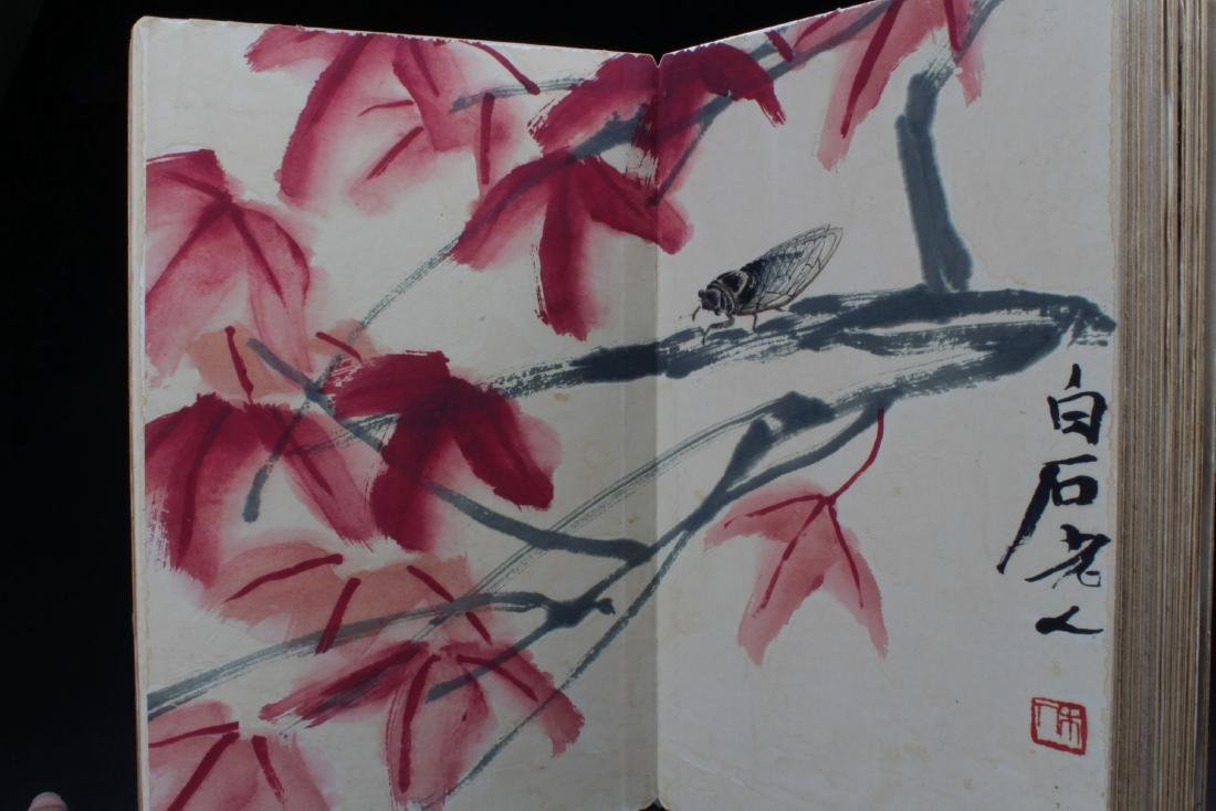 An Estate Chinese Thick-paged Painting Book - 10