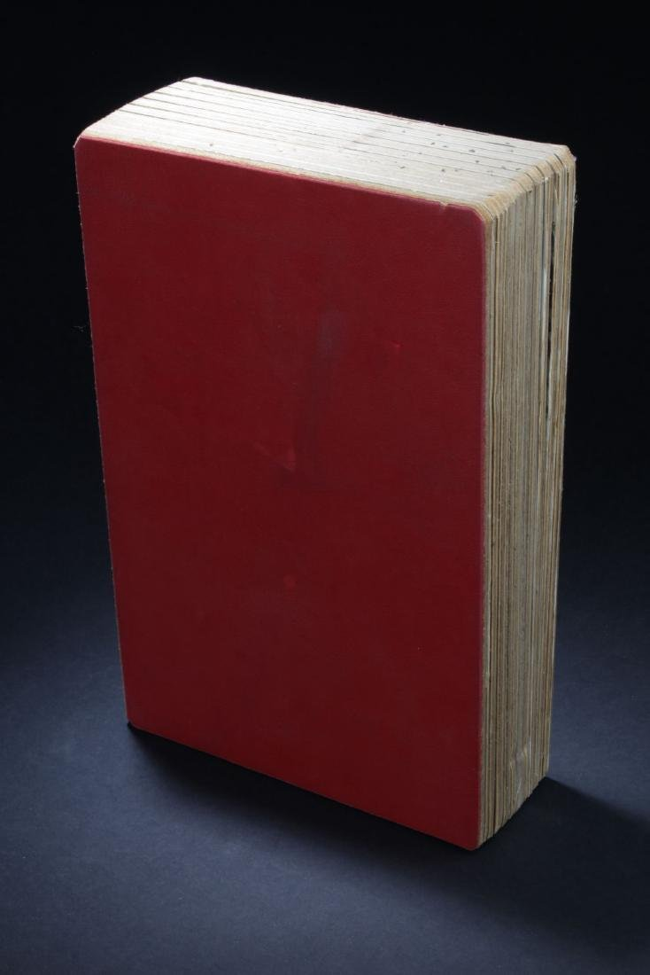 An Estate Chinese Thick-paged Painting Book - 2