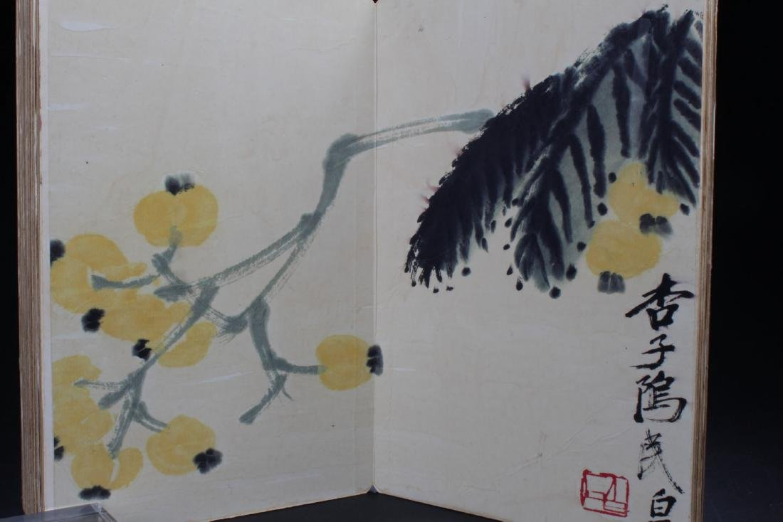 An Estate Chinese Thick-paged Painting Book - 5
