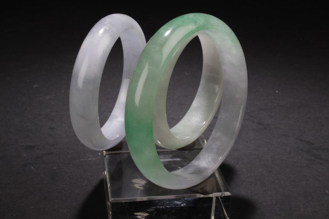 Group of Chinese Estate Bangles - 3
