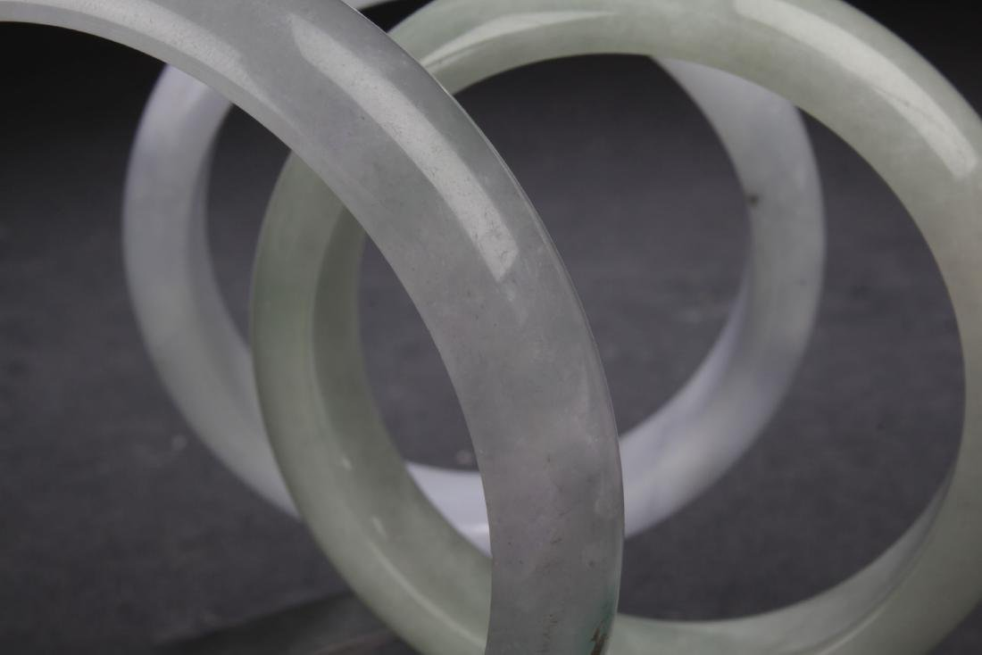Group of Chinese Estate Bangles - 8