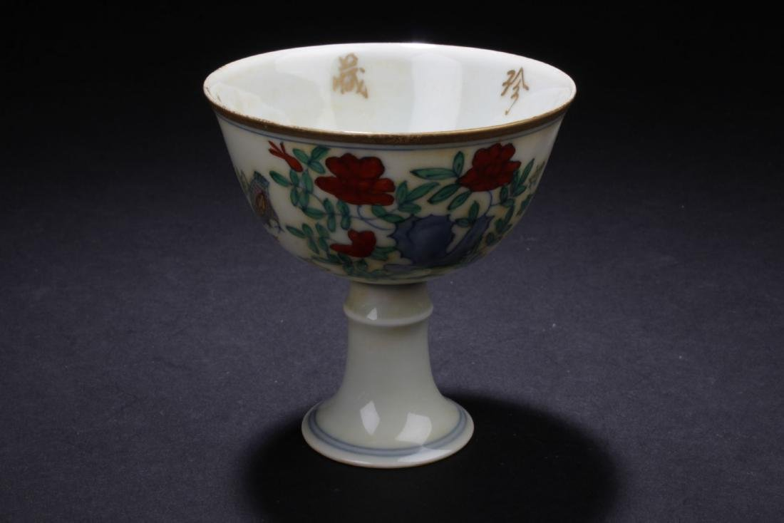 An Chinese Estate Porcelain Cup