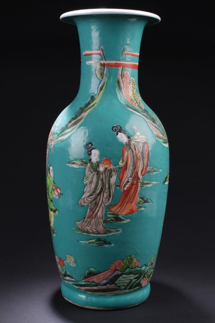 An Estate Story-telling Porcelain Vase - 3