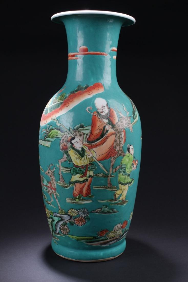 An Estate Story-telling Porcelain Vase - 4