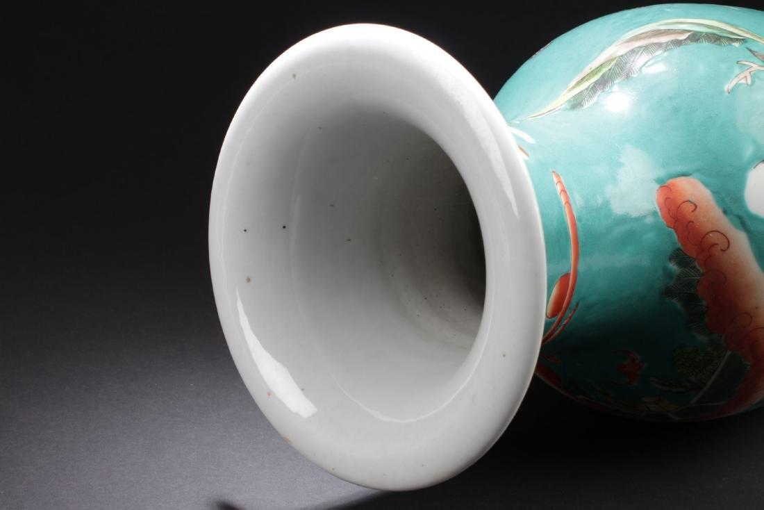 An Estate Story-telling Porcelain Vase - 6