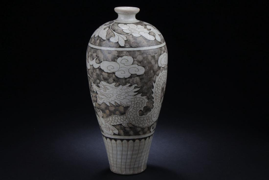 A Chinese Ancient-decorating Porcelain Vase