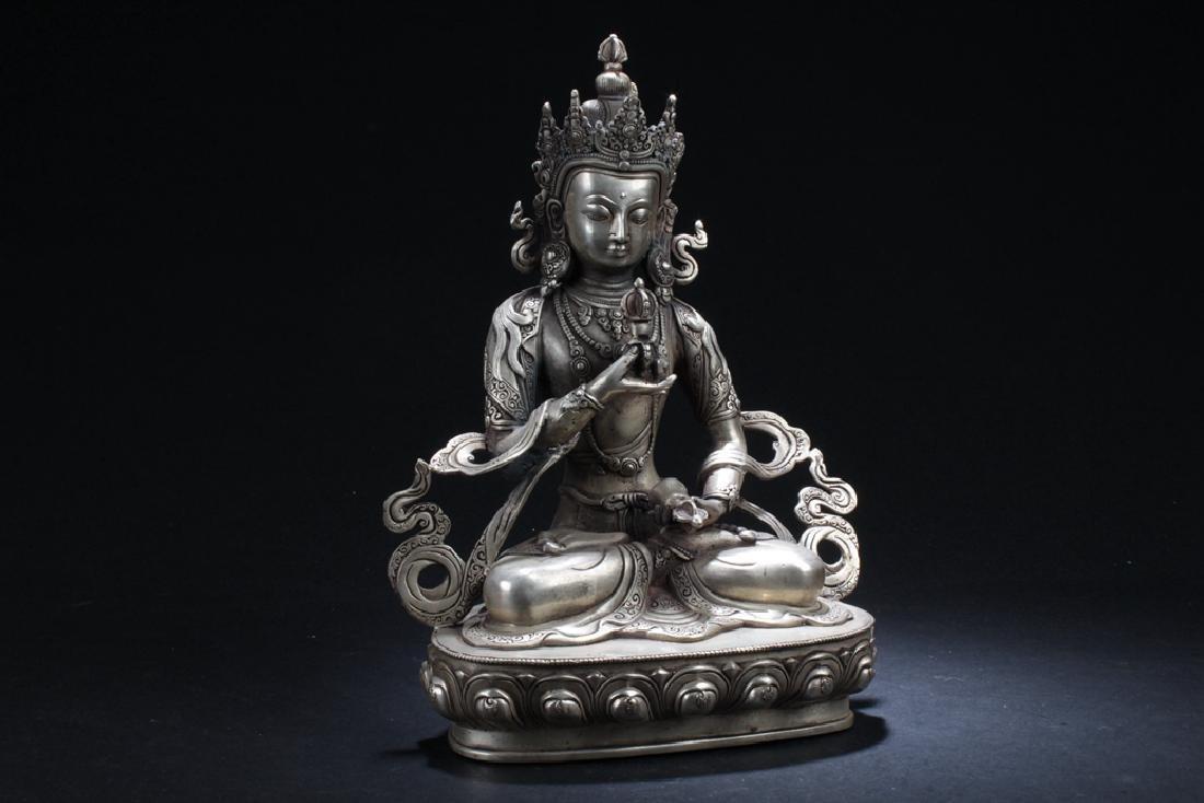An Estate Chinese Buddha Statue