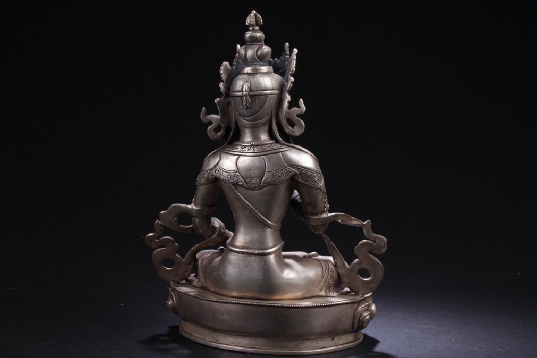 An Estate Chinese Buddha Statue - 5