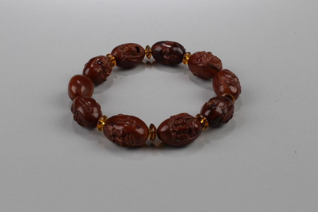 A 10-bead Religious Buddha Bracelet