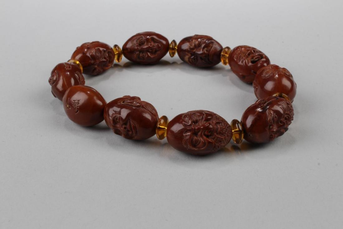 A 10-bead Religious Buddha Bracelet - 3