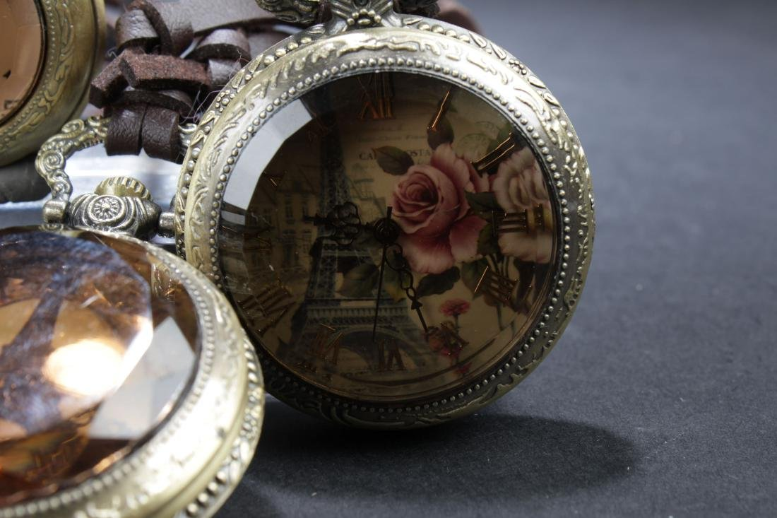 A Pile of Estate Pocket Watches - 2