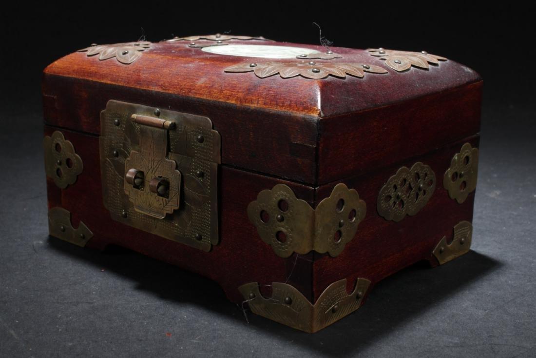 An Estate Chinese Jewerly Box