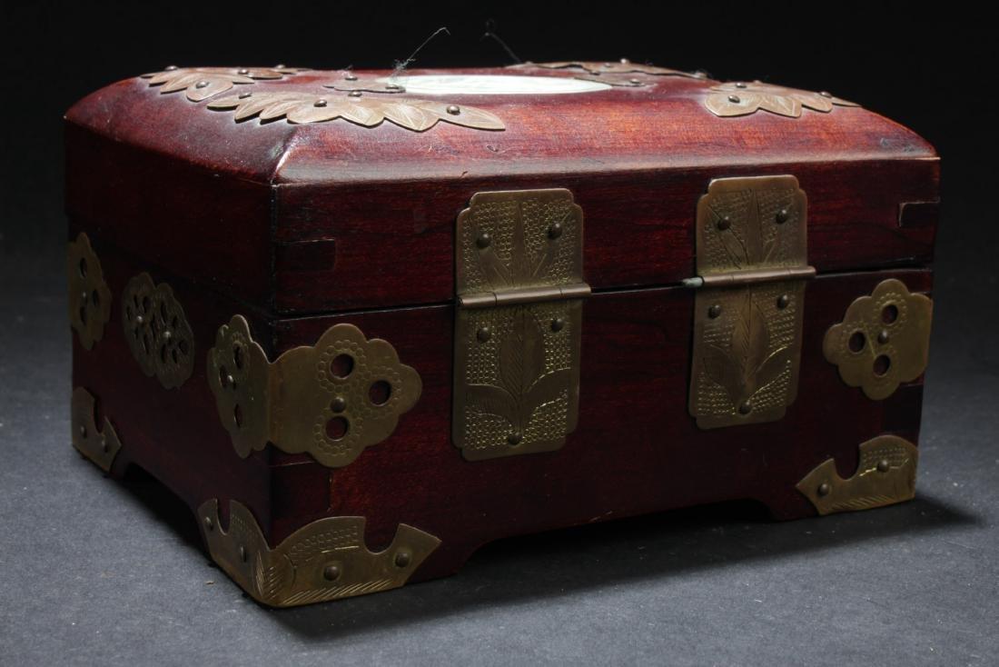 An Estate Chinese Jewerly Box - 2