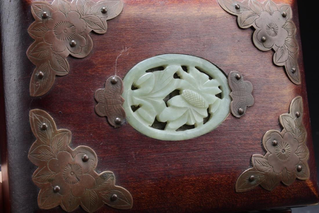 An Estate Chinese Jewerly Box - 4