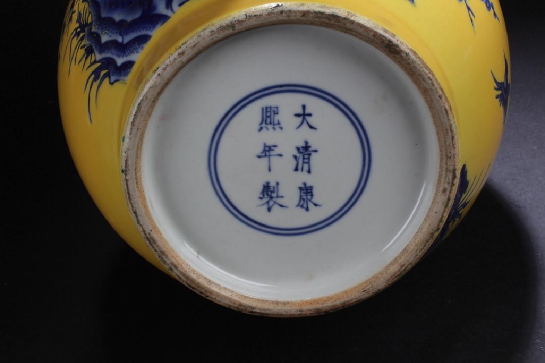 A Narrow-opening Chinese Estate Porcelain Vase - 7