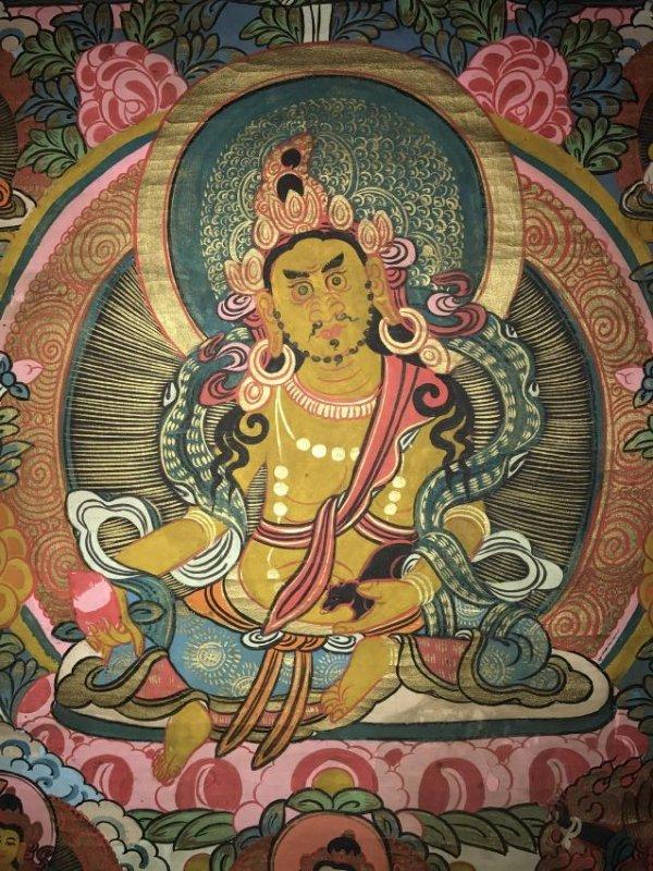 An Estate Tibetan Thangka Display - 2