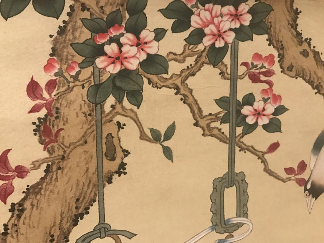 A Chinese Nature-sceen Shenquan Detailed Painting - 7